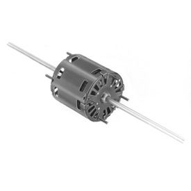 "D366 Fasco D366, 3.3"" Double Shaft Motor - 115 Volts 1550 RPM"