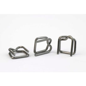 "B-4A 1/2"" Steel Wire Buckles B-4A for 1/2"" Polypropylene Strapping, 1000 Pack"