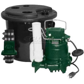 Zoeller Drain Pump System 131-0001 With M98 Pump, 1/2 HP