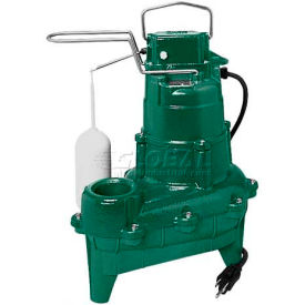 Zoeller Waste-Mate N264 Non-Automatic Submersible Sewage Pump 264-0002, 2/5 HP