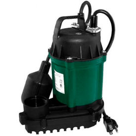 Zoeller Automatic Water RiddR III Submersible Sump Pump 49-0006, 1/4 HP