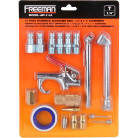 "freeman automotive accessory pack ap1414a, 1/4"" x 1/4"" Freeman Automotive Accessory Pack AP1414A, 1/4"" x 1/4"""