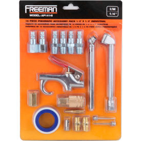 "freeman industrial accessory pack ap1414i, 1/4"" x 1/4"" Freeman Industrial Accessory Pack AP1414I, 1/4"" x 1/4"""