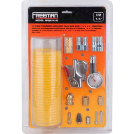 "freeman industrial accessory pack w/hose apwh1414i, 1/4"" x 1/4"" Freeman Industrial Accessory Pack W/Hose APWH1414I, 1/4"" x 1/4"""