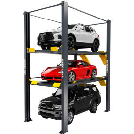 bendpak® tri-level parking lift 9,000 and 7,000 lb capacity, extended BendPak® Tri-Level Parking Lift 9,000 and 7,000 lb Capacity, Extended