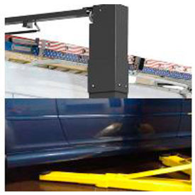 "bendpak® 10,000 lb capacity/asym clearfloor/adj. width/screw pads/168"" oa height/low-pro arms BendPak® 10,000 lb Capacity/Asym Clearfloor/Adj. Width/Screw Pads/168"" OA Height/Low-Pro Arms"