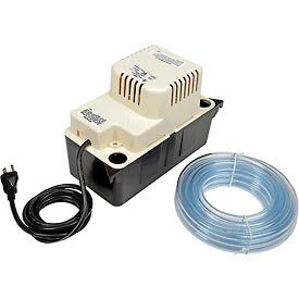 554411 Little Giant; Condensate Removal Pump VCMA-15ULT, Automatic, 115V, 65 GPH At 1, 15 Lift