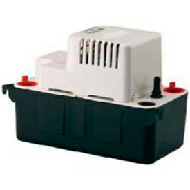 554435 Little Giant; Condensate Removal Pump VCMA-20ULST, Automatic, 115V, 80 GPH At 1, 20 Lift