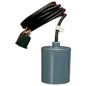 599211 Little Giant 599211 Piggyback Mechanical Float Switch for 115/230 Volt Pumps up to 15 Amps