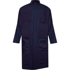 arcguard® flame resistant lab coat, ultrasoft, 2xl, navy, c09uplc ArcGuard® Flame Resistant Lab Coat, UltraSoft, 2XL, Navy, C09UPLC