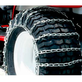 1062156 Maxtrac Snow Blower/Garden Tractor Tire Chains,  2 Link Spacing (Pair) - 1062156