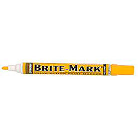 84004 Dykem; 84004 - Brite-Mark; Medium Yellow Marker (Pack of 12)