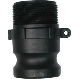 "90.725.100 1"" Polypropylene Camlock Fitting - Male Coupler x MPT Thread"