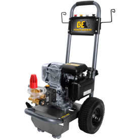 BE Pressure  B275HAS 2700 PSI Mobile Pressure Washer 5HP Honda Engine