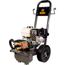 BE Pressure B2565HGS 2500PSI 6.5HP 3.0GPM Gas Pressure Washer W/Honda GX200 Engine & General Pump