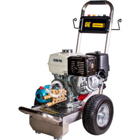 B4213HSJ BE Pressure B4213HSJ 13HP 4000 PSI Pressure Washer W/Honda GX Engine & Cat Pump