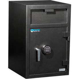 "FD-3020 Protex Large Front Loading Depository Safe With Electronic Lock FD-3020 20"" x 20"" x 30"" Gray"