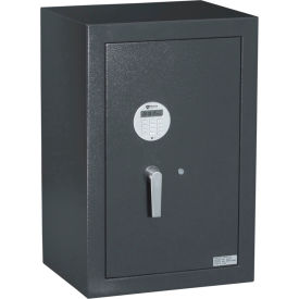 "Protex Electronic Burglary Safe With Electronic Lock HD-73 19"" x 15-3/4"" x 28-3/4"" Gray"