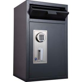 "Protex Front Loading Depository Safe With Electronic Lock HD-9150D 19-3/4"" x 17-5/8"" x 32-5/8"" Gray"