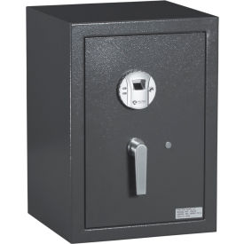 "protex biometric (fingerprint) burglary safe with biometric lock hz-53 14-7/8"" x 14-1/4"" x 21"" gray Protex Biometric (Fingerprint) Burglary Safe With Biometric Lock HZ-53 14-7/8"" x 14-1/4"" x 21"" Gray"