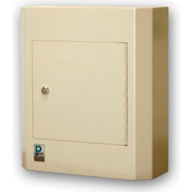"Protex Wall Mounted Depository Drop Box With Keyed Lock SDL-400K 14"" x 5-1/8"" x 15-3/4"" Beige"