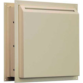 "WDS-311 Protex Through-The-Wall Letter Payment Depository Drop Box WDS-311 - 14""W x 8-3/4""D x 15""H, Beige"