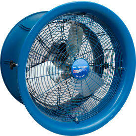 "patterson h22a high velocity fan, 22"", 115v, 1 ph w/ yoke mount Patterson H22A High Velocity Fan, 22"", 115V, 1 PH w/ Yoke Mount"
