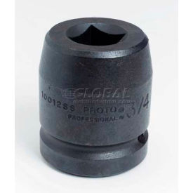 "J10015SS Proto J10015SS 1"" Drive Impact Socket 15/16"" - 4 Point, 2-1/2"" Long"