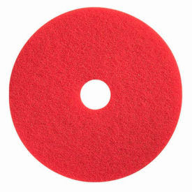 "boss cleaning equipment 13"" red-spray buff pad Boss Cleaning Equipment 13"" Red-Spray Buff Pad"