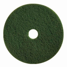 "boss cleaning equipment 19"" scrubbing pad, green, 5 per case Boss Cleaning Equipment 19"" Scrubbing Pad, Green, 5 Per Case"