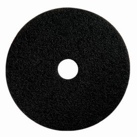 "boss cleaning equipment 19"" stripping pad, black, 5 per case Boss Cleaning Equipment 19"" Stripping Pad, Black, 5 Per Case"