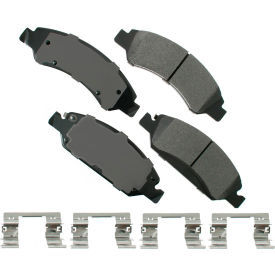 akebono akact1363 proact ultra premium ceramic disc brake pad kit Akebono AKACT1363 ProACT Ultra Premium Ceramic Disc Brake Pad Kit