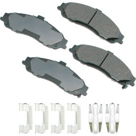 akebono akact731 proact ultra premium ceramic disc brake pad kit Akebono AKACT731 ProACT Ultra Premium Ceramic Disc Brake Pad Kit
