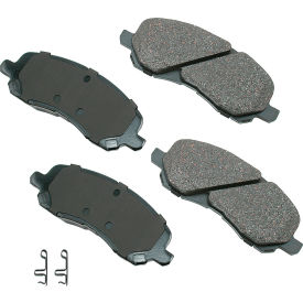 akebono akact866 proact ultra premium ceramic disc brake pad kit Akebono AKACT866 ProACT Ultra Premium Ceramic Disc Brake Pad Kit