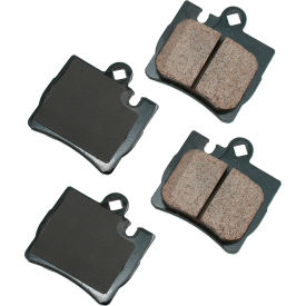 akebono akeur848 euro ultra premium ceramic disc brake pad kit Akebono AKEUR848 EURO Ultra Premium Ceramic Disc Brake Pad Kit