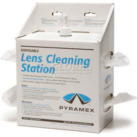 LCS20 Lens Cleaning Station, 16oz Solution, 1200 Tissues