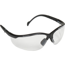 SB1810R15 V2 Readers; Eyewear Clear +1.5 Lens , Black Frame