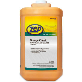1046475 Zep Professional Orange Classic Industrial Hand Cleaner W/ Pumice, 4 Gal. Bottles - 1046475
