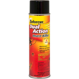 1047651 Enforcer; Dual Action Insect Killer - 16 oz. Aerosol Spray, 12 Cans - 1047651