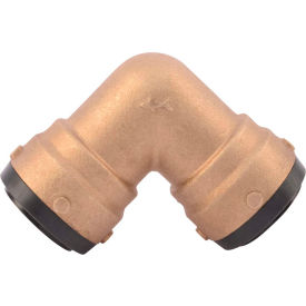 SB0241 SharkBite SB0241 Elbow, 90 deg. Brass, Push-Fit, 1-1/2in