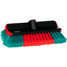 "vikan vehicle wash brush w/ polyester bristles - 11""l x 5-15/16""w Vikan Vehicle Wash Brush W/ Polyester Bristles - 11""L x 5-15/16""W"