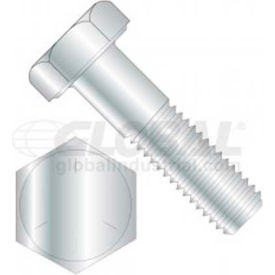 7/8-9 x 4 hex head cap screw, grade 8, package of 2