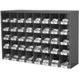 hex head cap screw bin assortment - grade 5 - sae - zinc - 9/16-18 to 1-14 - 40 items, 515 pieces