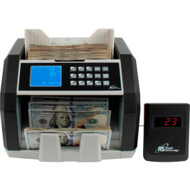 royal sovereign® front load bill counter with 3 phase counterfeit detection w/ external display Royal Sovereign® Front Load Bill Counter with 3 Phase Counterfeit Detection w/ External Display