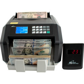 royal sovereign® back load bill counter with 3 phase counterfeit detection and external display Royal Sovereign® Back Load Bill Counter with 3 Phase Counterfeit Detection and External Display