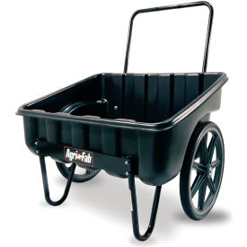 agri-fab 45-0528 200 lb. poly carry-all push lawn & garden cart Agri-Fab 45-0528 200 LB. Poly Carry-All Push Lawn & Garden Cart