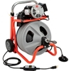 "52363 RIDGID; K-400 Drum Machine W/Bulb Auger & Gloves, 115V, 6.7AMPS, 1/3HP, 75L x 3/8""W Cable"