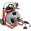 "27003 RIDGID; K-400 Drum Machine W/Bulb Auger & Gloves, 115V, 6.7AMPS, 1/3HP, 50""L x 1/2""W Cable"