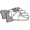 41937 RIDGID; Drain Cleaning Leather Gloves, For Use W/RIDGID; Tools