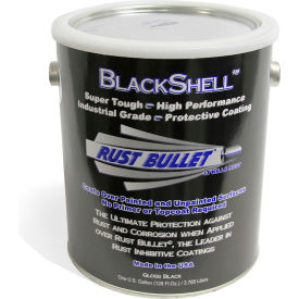 rust bullet blackshell protective coating and topcoat gallon can 4/case bsg-c4 Rust Bullet BlackShell Protective Coating and Topcoat Gallon Can 4/Case BSG-C4